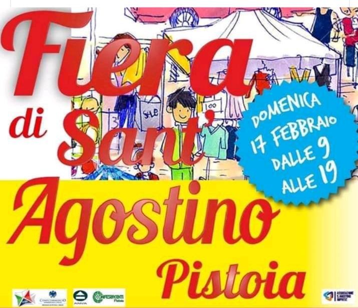 Fiera di Sant'Agostino – Pistoia domenica 17 febbraio