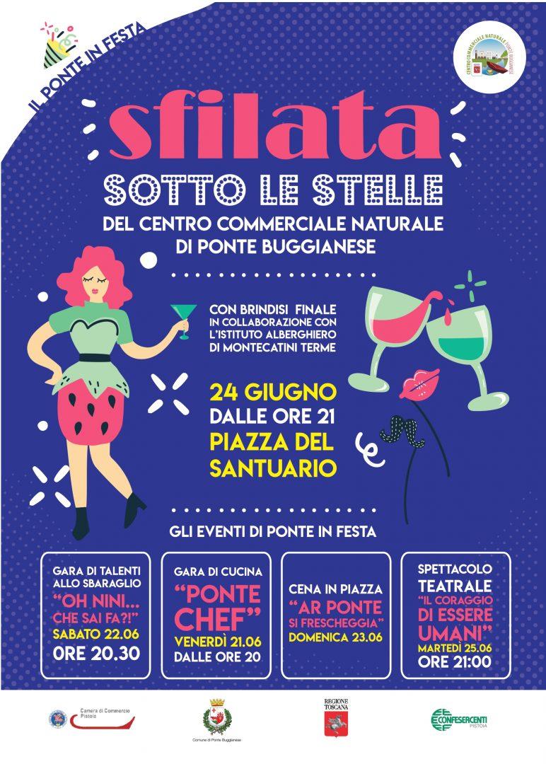 PONTE IN FESTA SFILATA SOTTO LE STELLE – 24 GIUGNO 2019