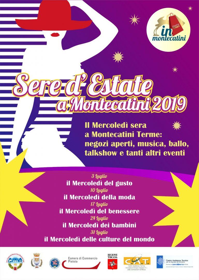 Sere d'estate a Montecatini:  mercoledì 31 luglio shopping ed eventi in notturna a Montecatini Terme