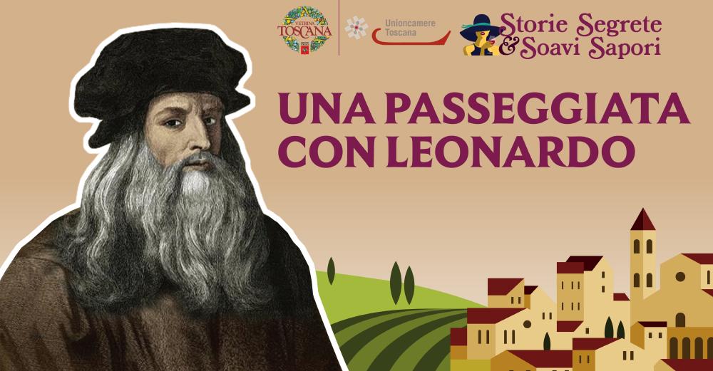 Una passeggiata con Leonardo  Domenica 22 settembre 2019  dalle 10.00 alle 15.30