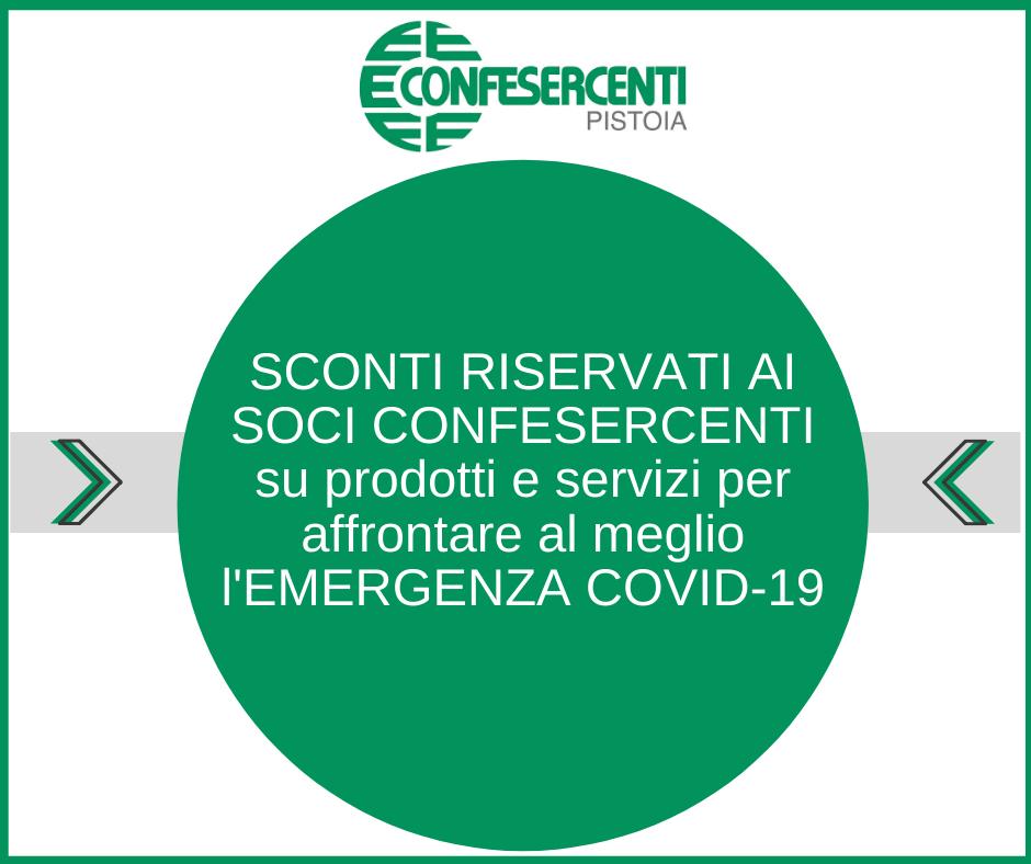 Sconti riservati ai soci Confesercenti su prodotti per il rispetto delle regole COVID-19 all'interno dell'attività commerciale