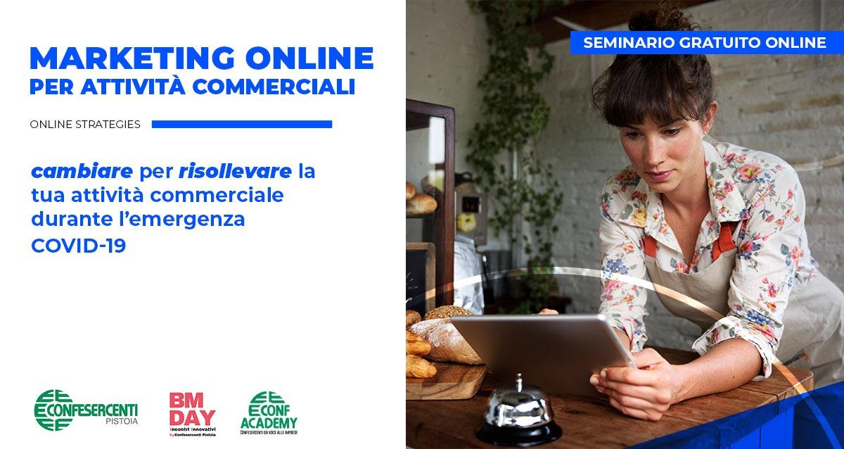 Seminario gratuito sul Marketing Online per affrontare la crisi dovuta al COVID-19  – 27 Aprile 2020