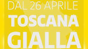 """Toscana in giallo,  ma sul """"decreto riaperture"""" rammarico e preoccupazione"""