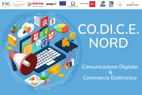 Aperte le iscrizioni per il corso gratuito di CO.DI.C.E. NORD – Comunicazione digitale e commercio eletrronico