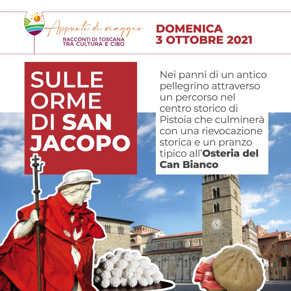 Sulle Orme di San Jacopo – Domenica 3 ottobre 2021